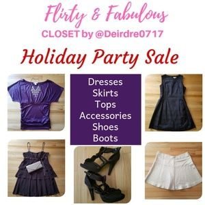 Dresses - Holiday Party Sales